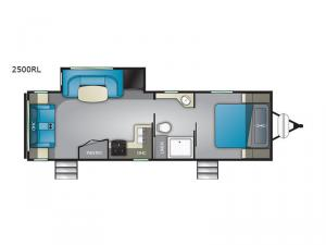 Wilderness 2500RL Floorplan Image