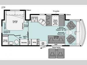Vista 27P Floorplan Image