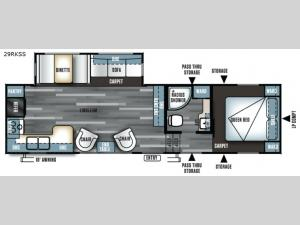 Salem 29RKSS Floorplan Image