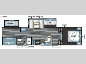 Salem 33BHOK Floorplan Image