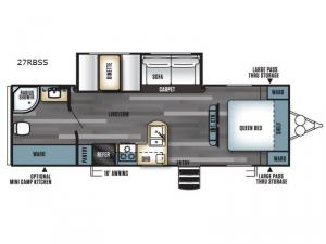 Salem 27RBSS Floorplan Image