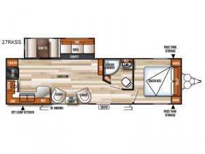 Salem 27RKSS Floorplan Image