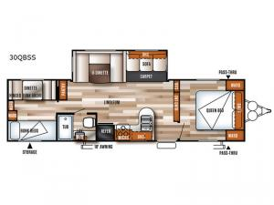 Salem 30QBSS Floorplan Image