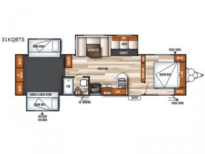 Salem 31KQBTS Floorplan Image