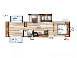 Salem 31QBTS Floorplan Image
