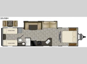 Trail Runner 30USBH Floorplan Image
