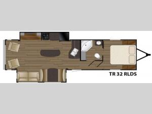 Trail Runner 32RLDS Floorplan Image