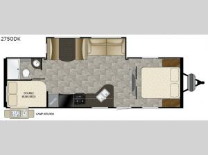Trail Runner 275ODK Floorplan Image