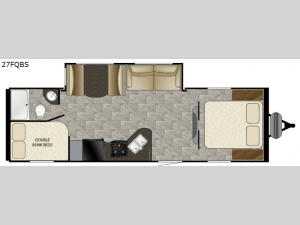 Trail Runner 27FQBS Floorplan Image