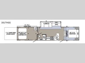 Puma Unleashed 351THSS Floorplan Image