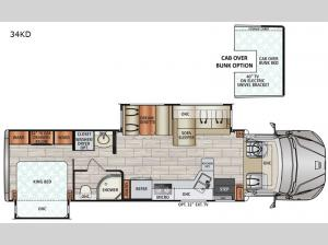 DX3 34KD Floorplan Image