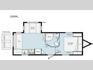 Minnie 2500RL Floorplan Image
