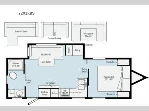 Minnie 2202RBS Floorplan Image