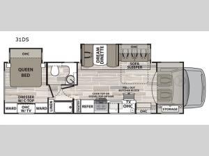 isata 4 31DS Floorplan Image