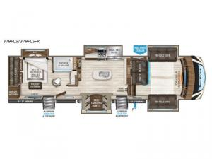 Solitude 379FLS R Floorplan Image