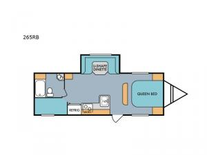 Retro 265RB Floorplan Image