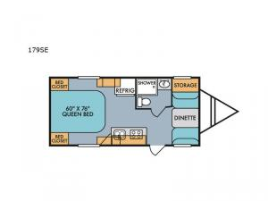 Retro 179SE Floorplan Image