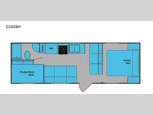 DREAM D260BH Floorplan Image