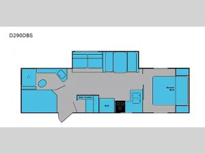 DREAM D290DBS Floorplan Image