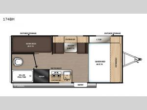 Catalina Summit Series 7 174BH Floorplan Image