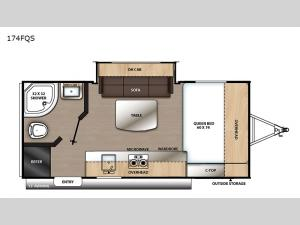 Catalina Summit Series 7 174FQS Floorplan Image