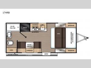 Catalina Summit Series 7 174RB Floorplan Image