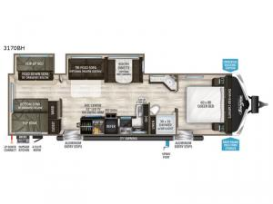 Imagine 3170BH Floorplan Image