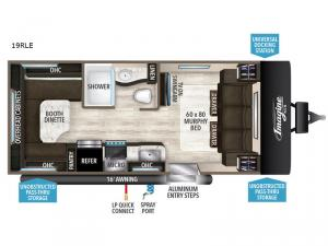 Imagine XLS 19RLE Floorplan Image