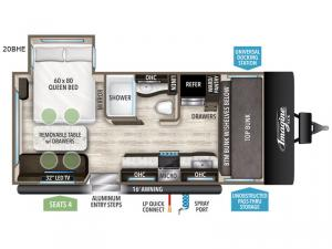 Imagine XLS 20BHE Floorplan Image
