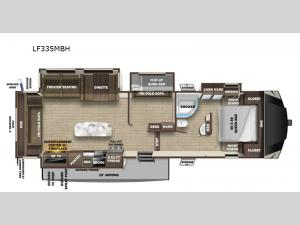 Open Range Light LF335MBH Floorplan Image