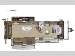 Open Range Light LT291RLS Floorplan Image
