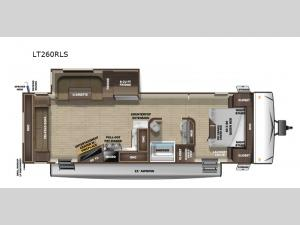 Open Range Light LT260RLS Floorplan Image
