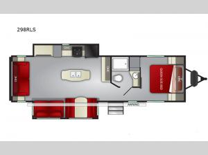 Shadow Cruiser 298RLS Floorplan Image