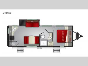Shadow Cruiser 248RKS Floorplan Image