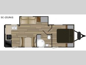 Shadow Cruiser 251RKS Floorplan Image