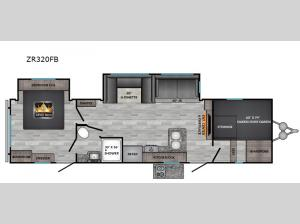 Zinger ZR320FB Floorplan Image