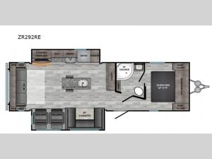 Zinger ZR292RE Floorplan Image