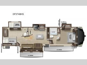 Open Range OF374BHS Floorplan Image