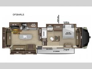 Open Range OF384RLS Floorplan Image