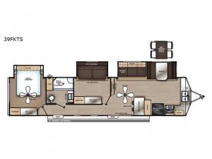 Catalina Destination Series 39FKTS Floorplan Image