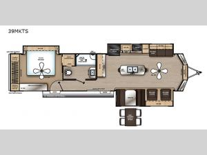Catalina Destination Series 39MKTS Floorplan Image