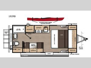 Catalina Expedition 192RB Floorplan Image
