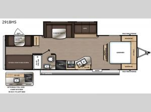 Catalina Summit Series 8 291BHS Floorplan Image