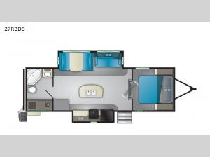 North Trail 27RBDS Floorplan Image
