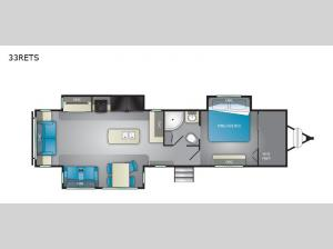 North Trail 33RETS Floorplan Image