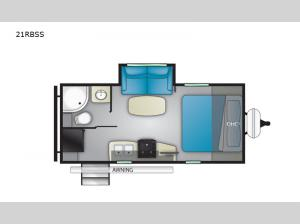 North Trail 21RBSS Floorplan Image