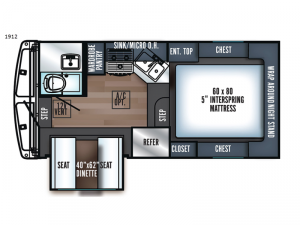 Real-Lite HS-1912 Floorplan Image