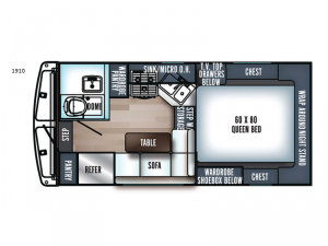 Real-Lite SS-1610 Floorplan Image