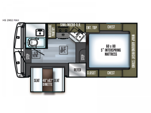 Backpack Edition HS 2902 MAX Floorplan Image