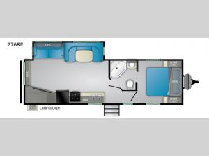 Prowler 276RE Floorplan Image